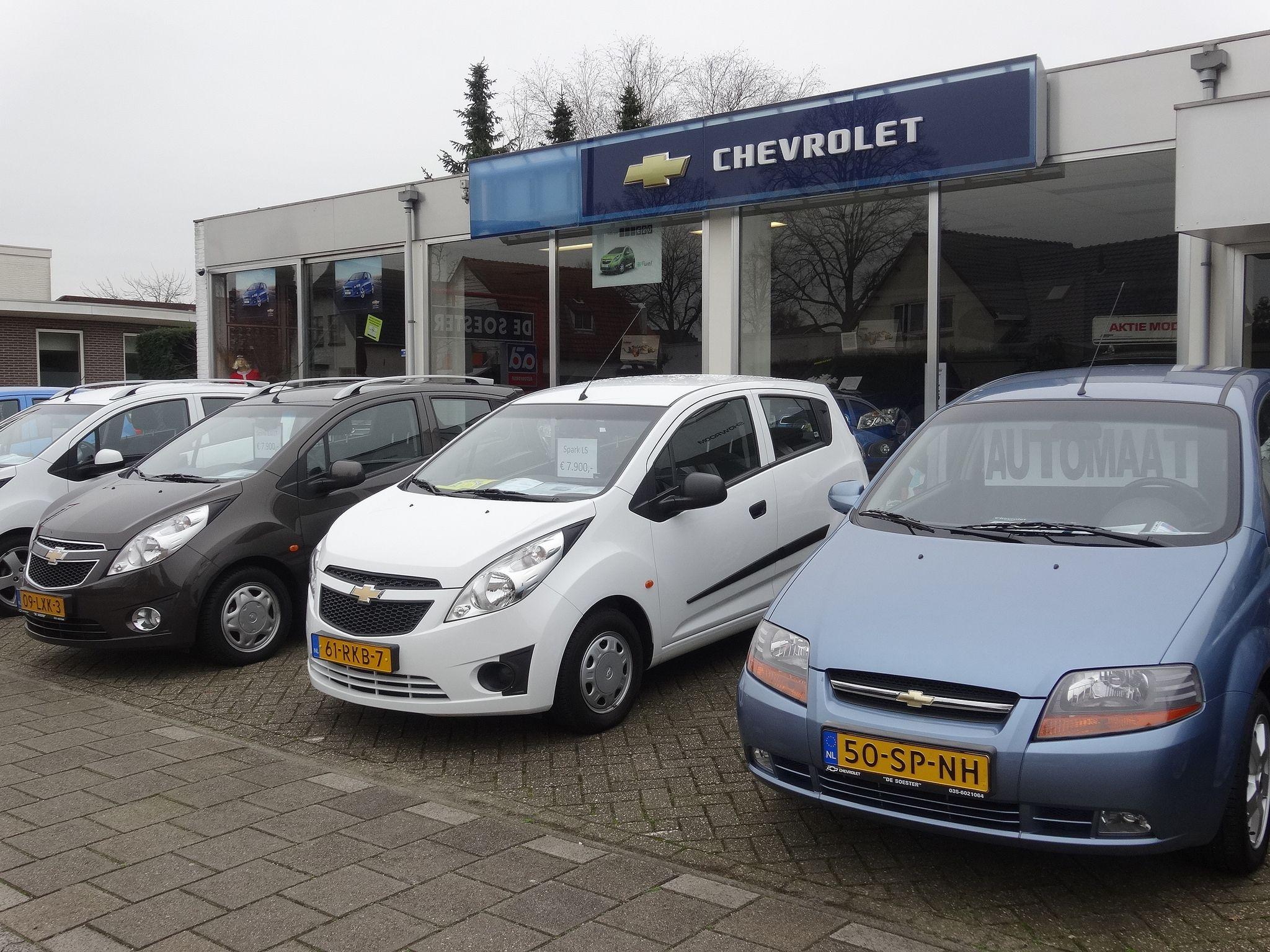 Soest De Soester Chevrolet Flic