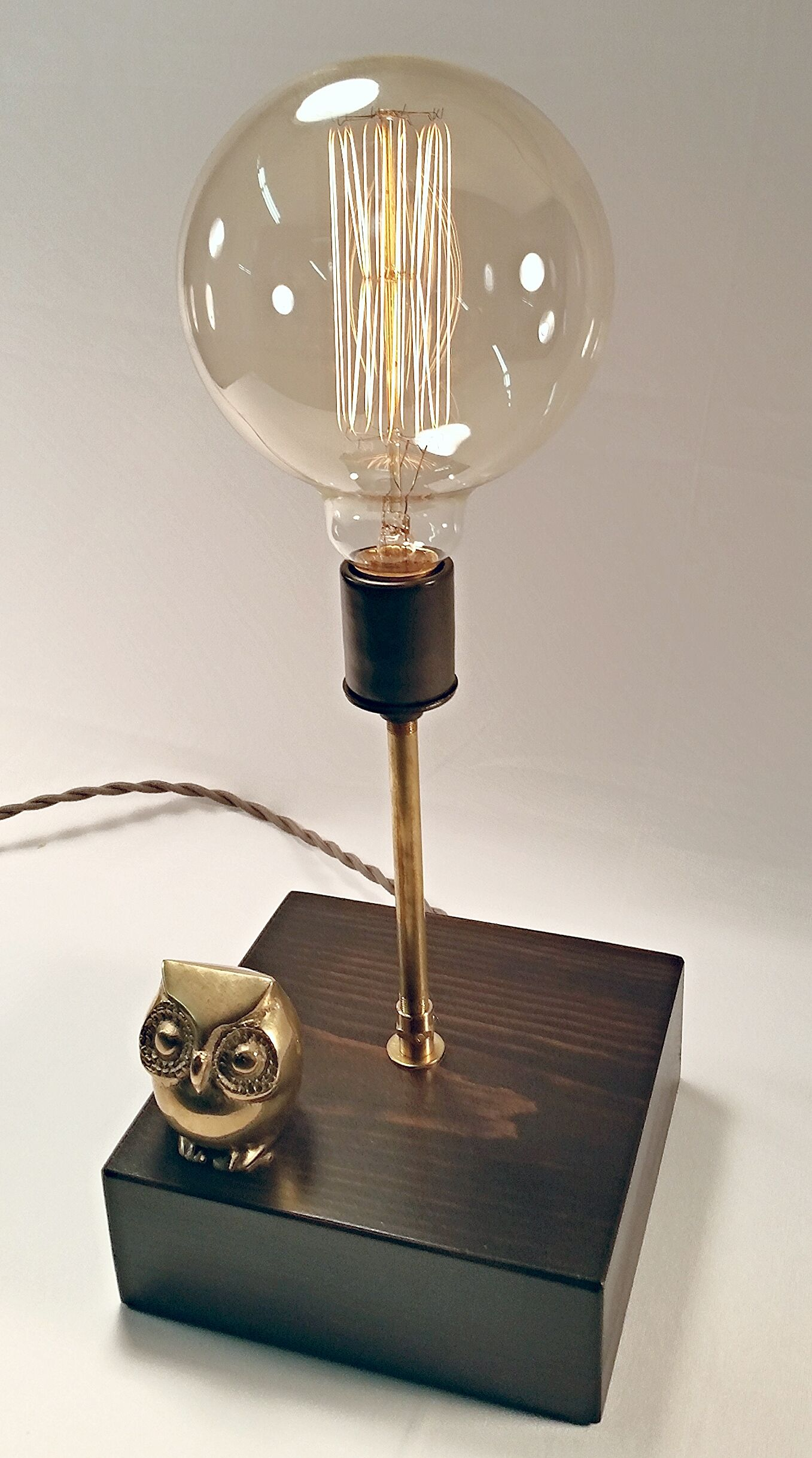 Mr Owl Touch Sensor Lamp Lamp Globe Bulb Led Bulb
