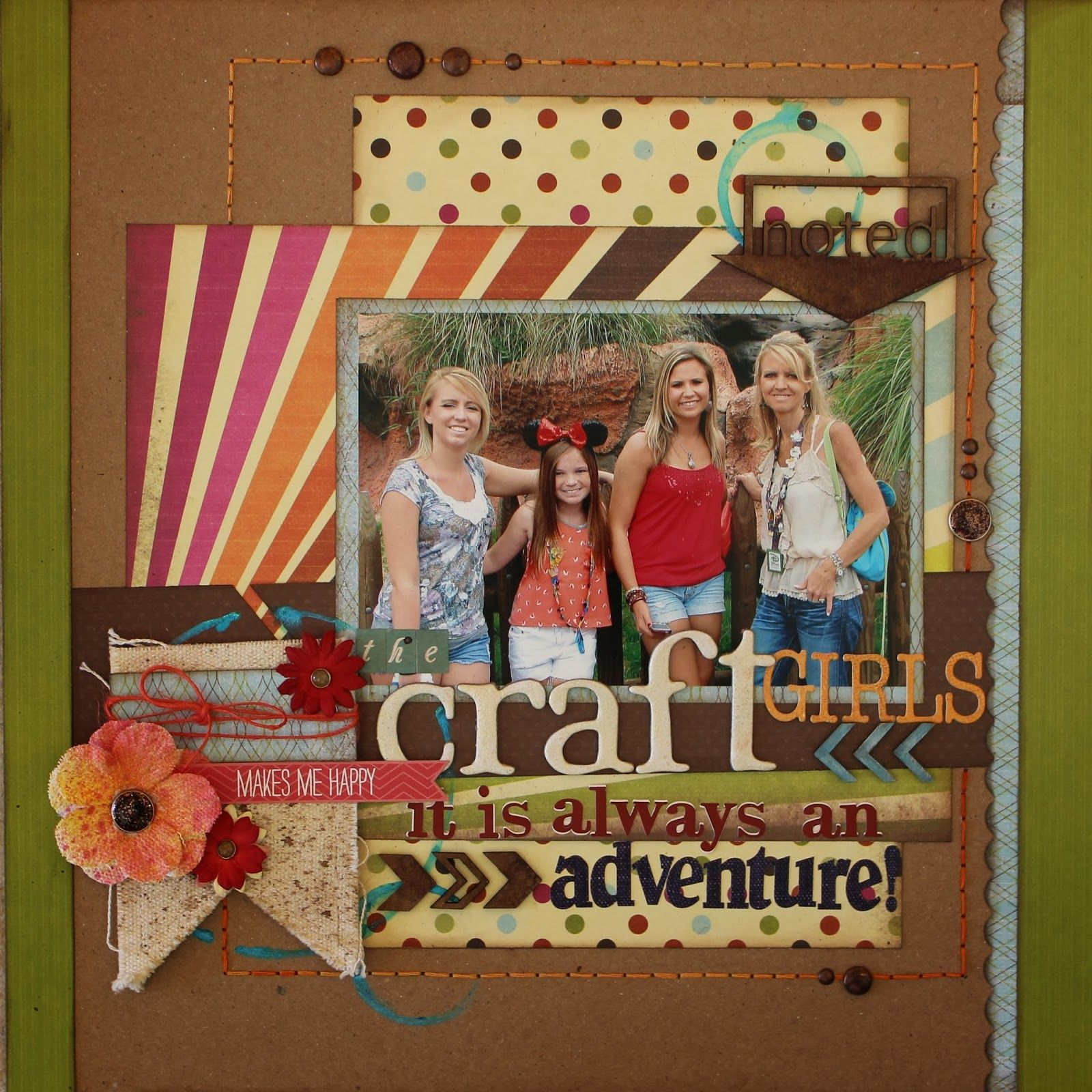 Scrapbook ideas adventure - Blog Quick Quotes Always An Adventure With Barb