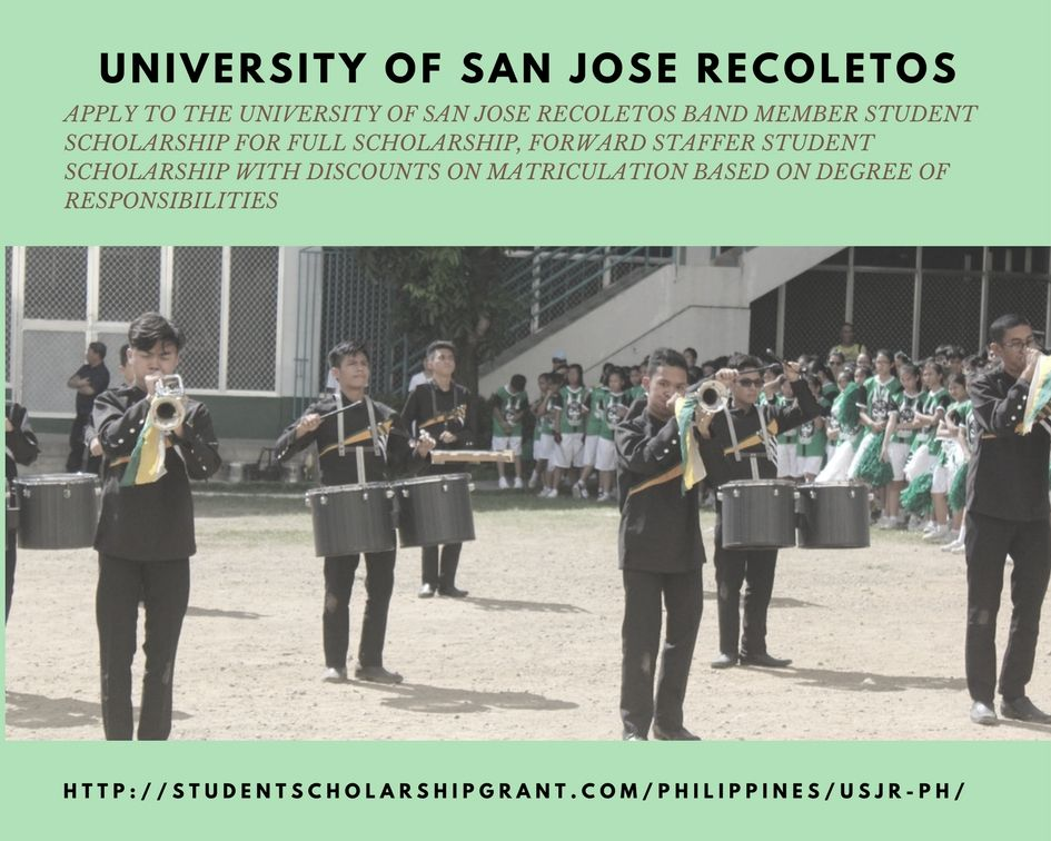 Apply To The University Of San Jose Recoletos Band Member Student