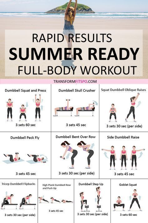 Workouts Get Your Summer Bod Fast! Rapid Results You Won't Believe!