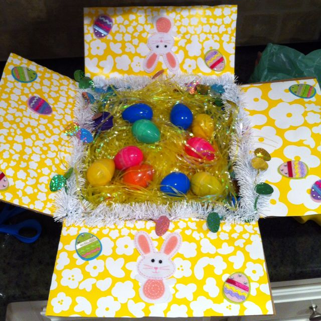 Easter care package just a photo but a cute idea all the same easter care package just a photo but a cute idea all the same deployment giftsmilitary negle Image collections