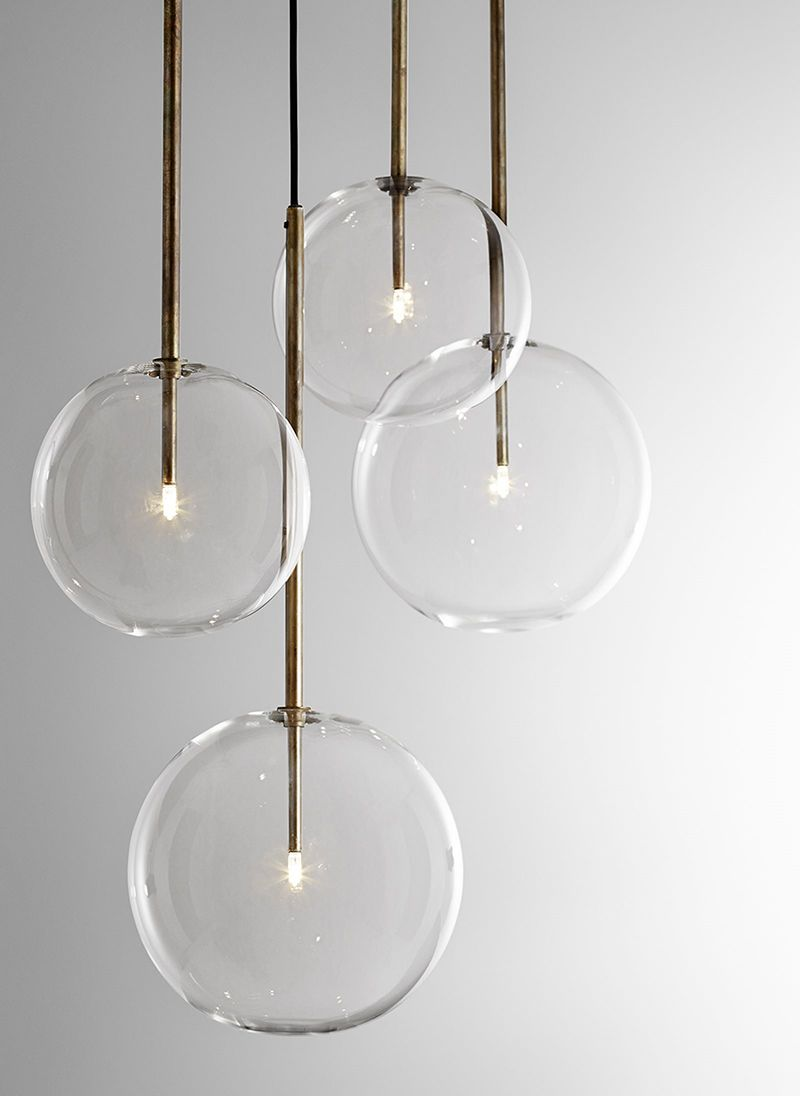 Unique lighting sure makes an impact in any space. More ...