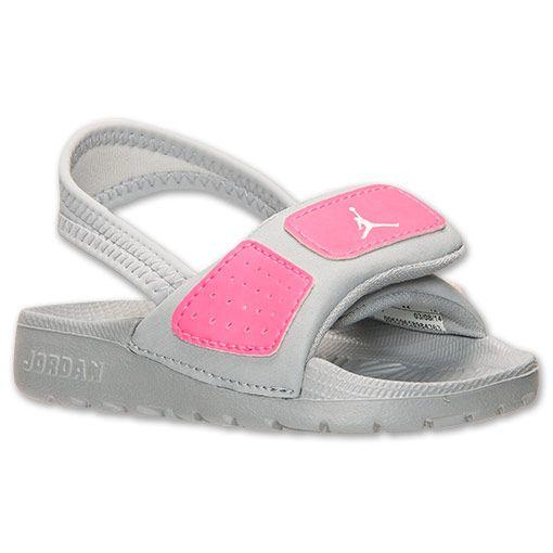 0fb47ee4ecb0 Girls  Toddler Jordan Hydro 3 Slide Sandals