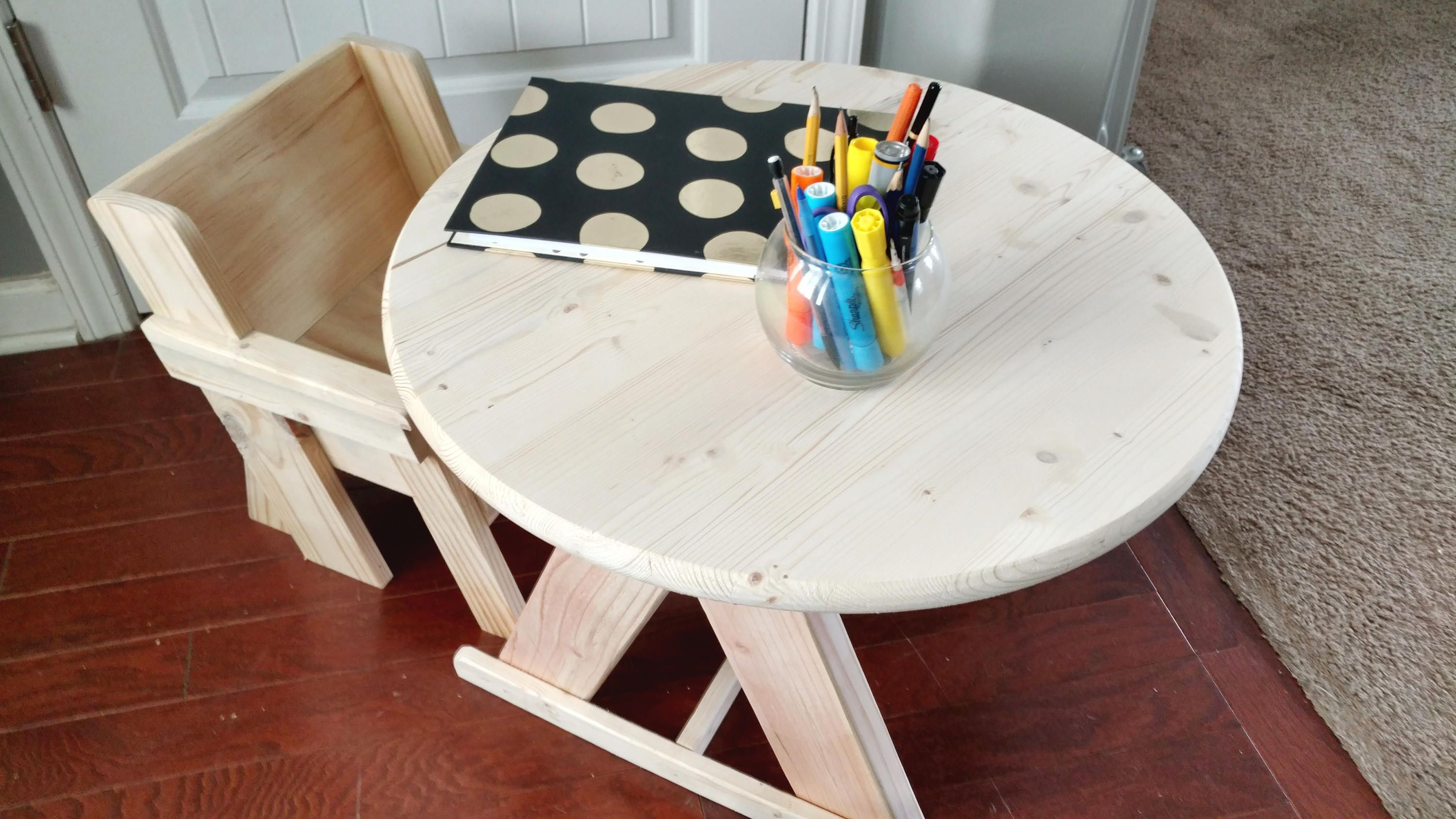 Kids Table and Chair Set, Toddler Table, Coloring Table, Age 1-4 yrs ...