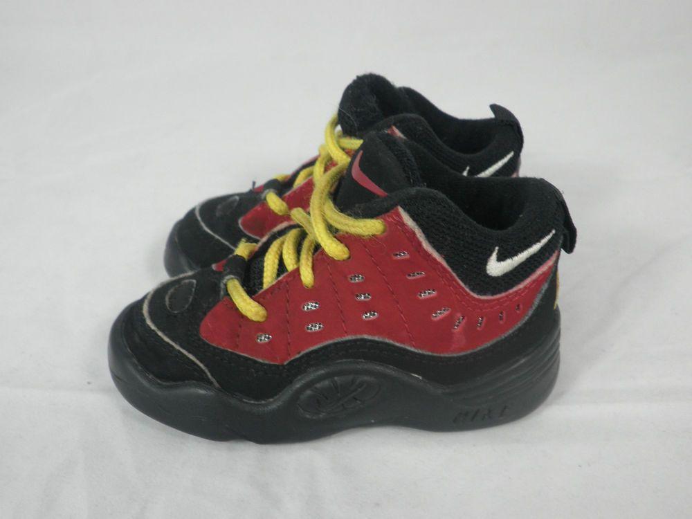 los más valorados mitad de descuento diseño novedoso Vtg OG 1997 Nike Air Bakin sz 5.5c V Worm Red Black Rodman ...