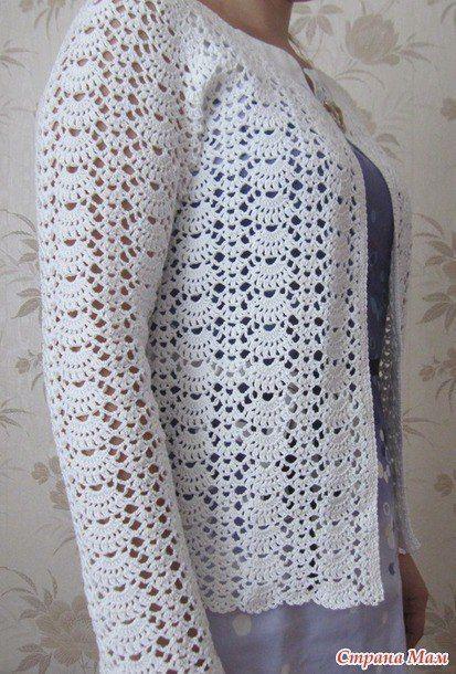 patrones-para-hacer-un-sueter-para-dama-tejido-a-crochet-2 | tejidos ...