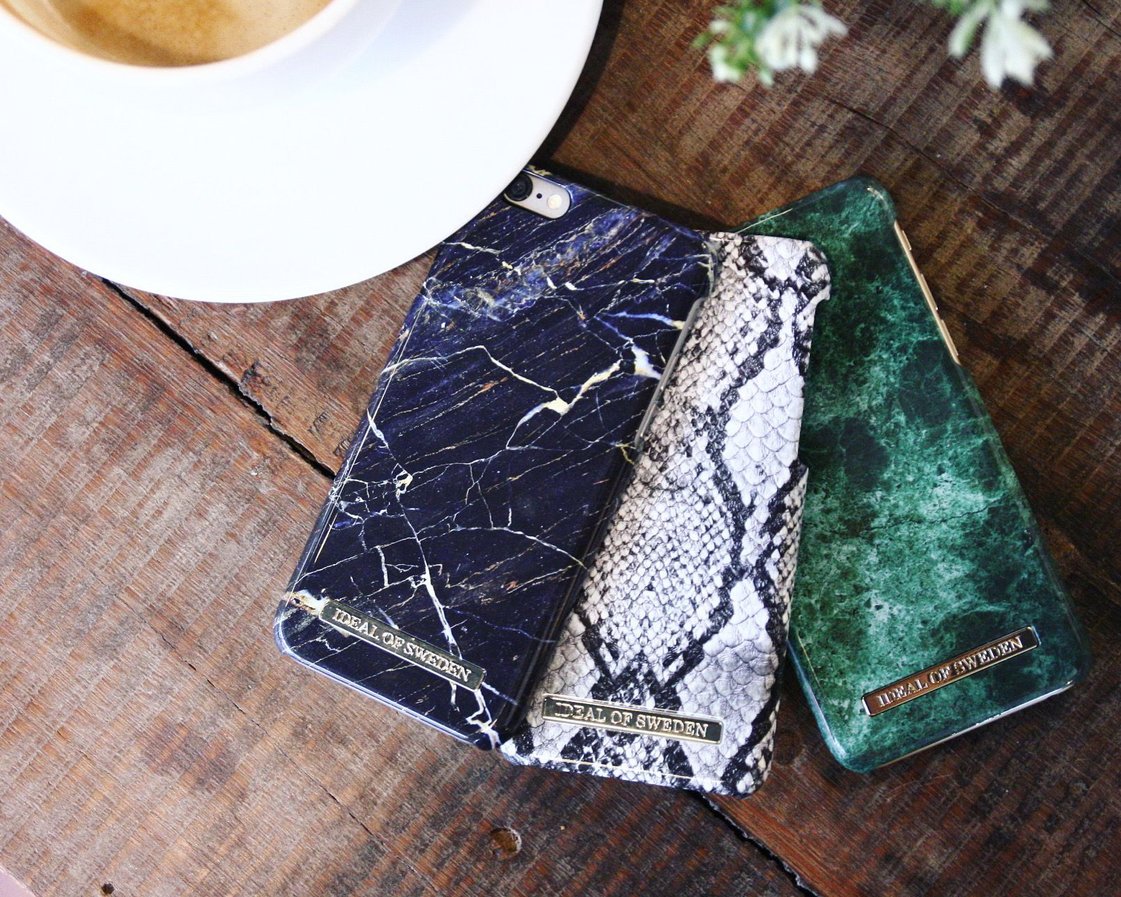 Black Marble, Python, Green Marble, iphone case. Idealofsweden. iDeal of Sweden