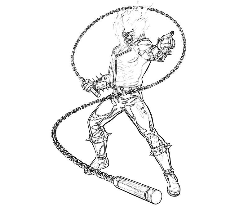 Capcom ghost rider coloring pages stuff to try - Coloriage ghost rider ...
