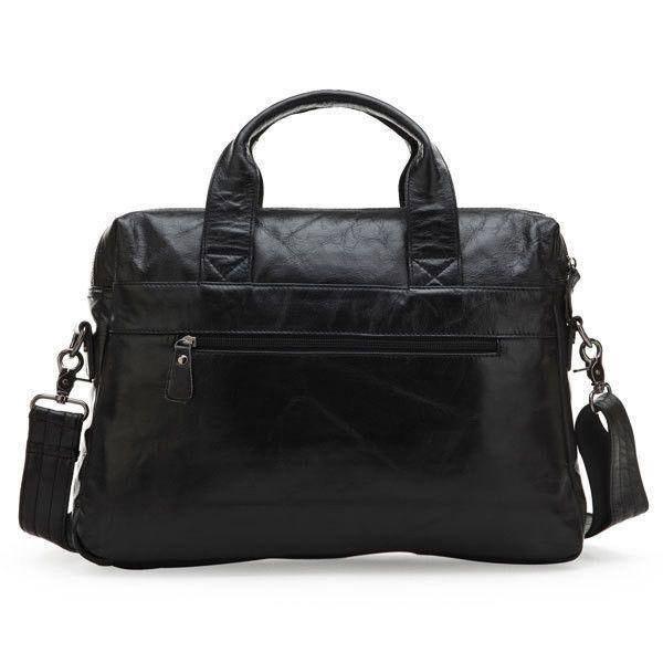 men's travel bag 100% Genuine Leather men bag Vintage men Messenger Bag men's briefcase Laptop business Briefcase
