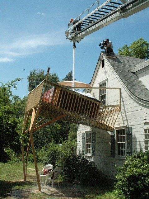 Hot Not To Build A Hot Tub Deck And How Not To Fill A Hot Tub