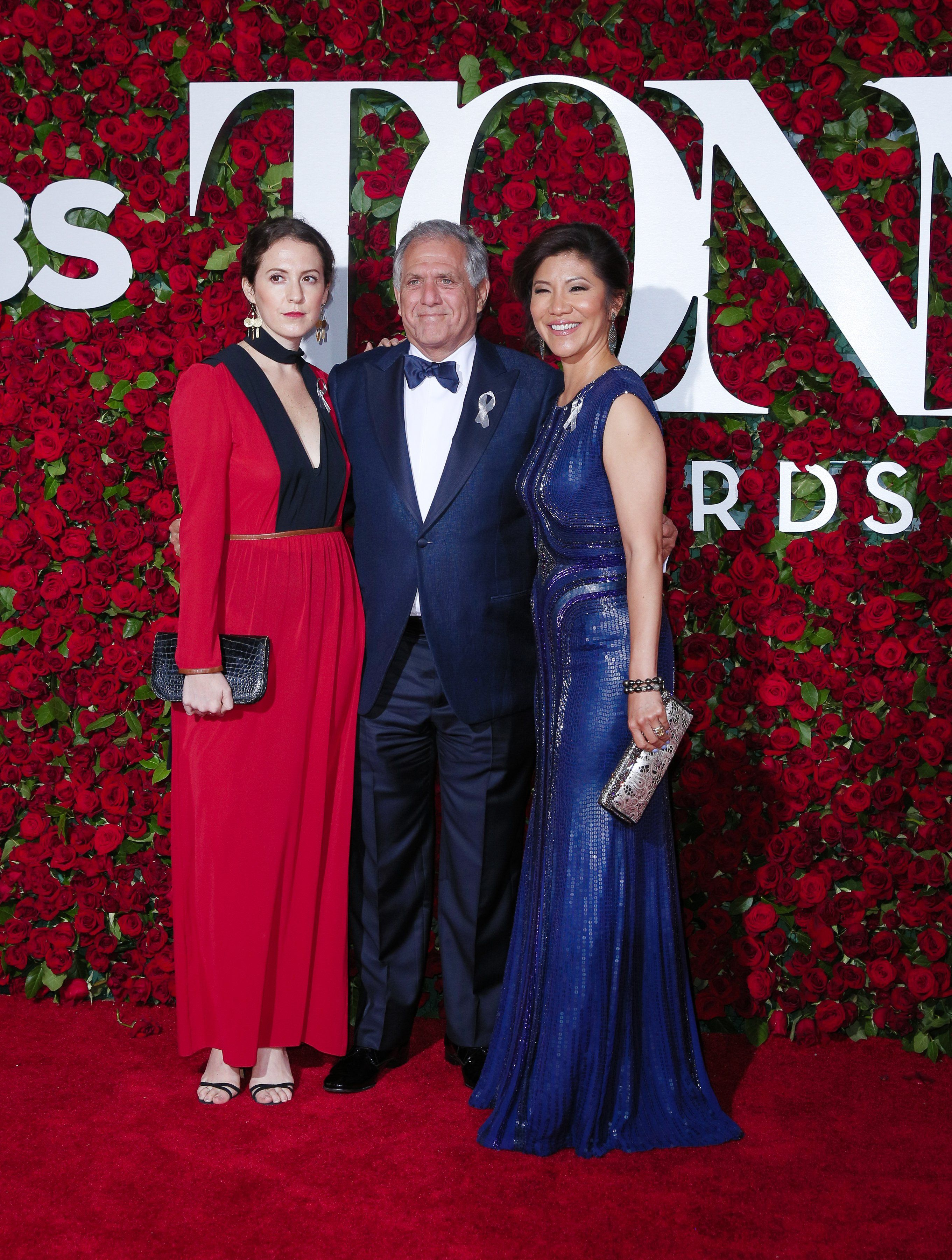 sara moonves leslie moonves and julie chen 2016 tony