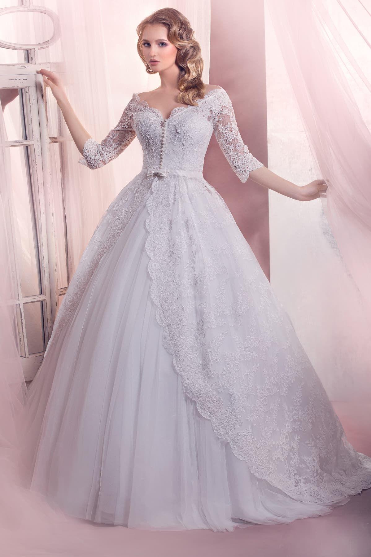 6c473e710aa Свадебное платье Gabbiano Либерти ▷ Свадебный Торговый Центр Вега в Москве