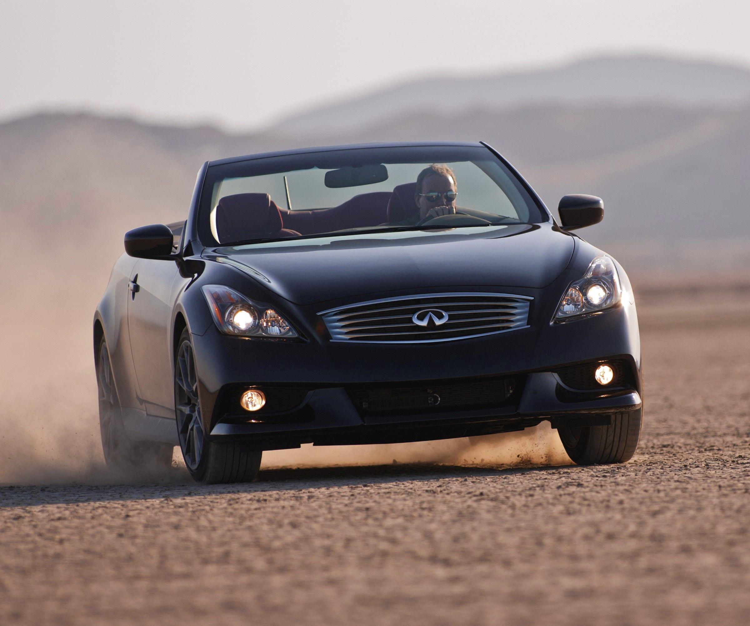 convert infiniti infinity top speed convertible cars