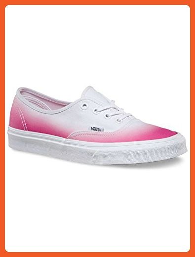 f17fabafb82513 Vans Authentic Ombre Pink   True White 6 B(M) US Women   4.5 D(M) US Men -  Athletic shoes for women ( Amazon Partner-Link)
