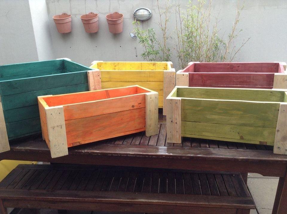 Cajones madera pallet para jardin huerta maceteros 429601 mla20377038147 082015 960 717 - Cajones de madera ...