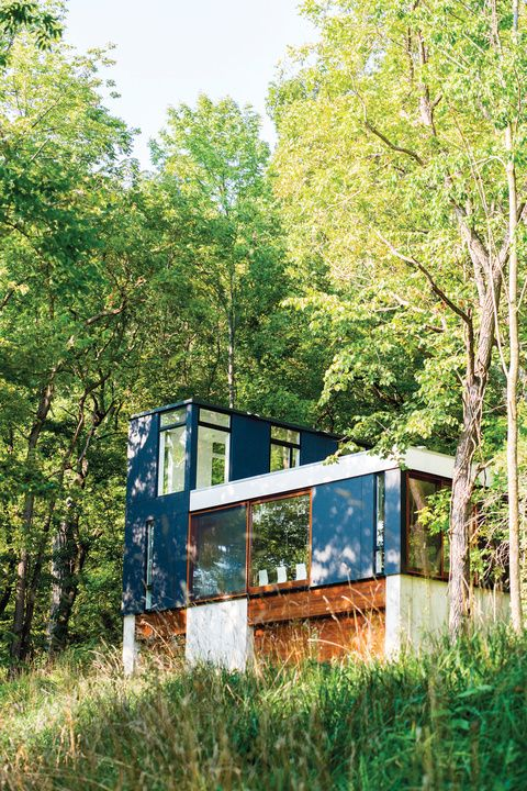 Modern vacation cabin home in Wisconsin via @dwelling in the house Media