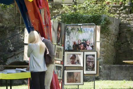 Fête du Livre & exposition photographique à Corsavy An 2010