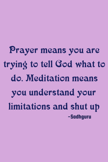34+ What is the difference between prayer and meditation trends