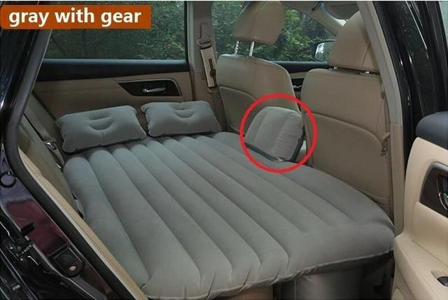 Inflatable Travel Party Car Bed For Back Seat Cushion DHL TNT Fast Shipping 6colour Item Type Covers Supports Brand Name GLCC Weight