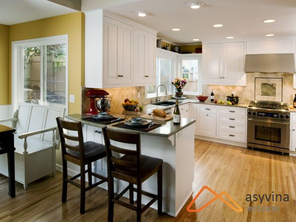 Thiết kế phòng bếp chung cư 50m2 cần hiện đại, tiện nghi, hợp phong thủy. Liên hệ công ty hàng đầu Asyvina để được tư vấn, thiết kế hiệu quả.