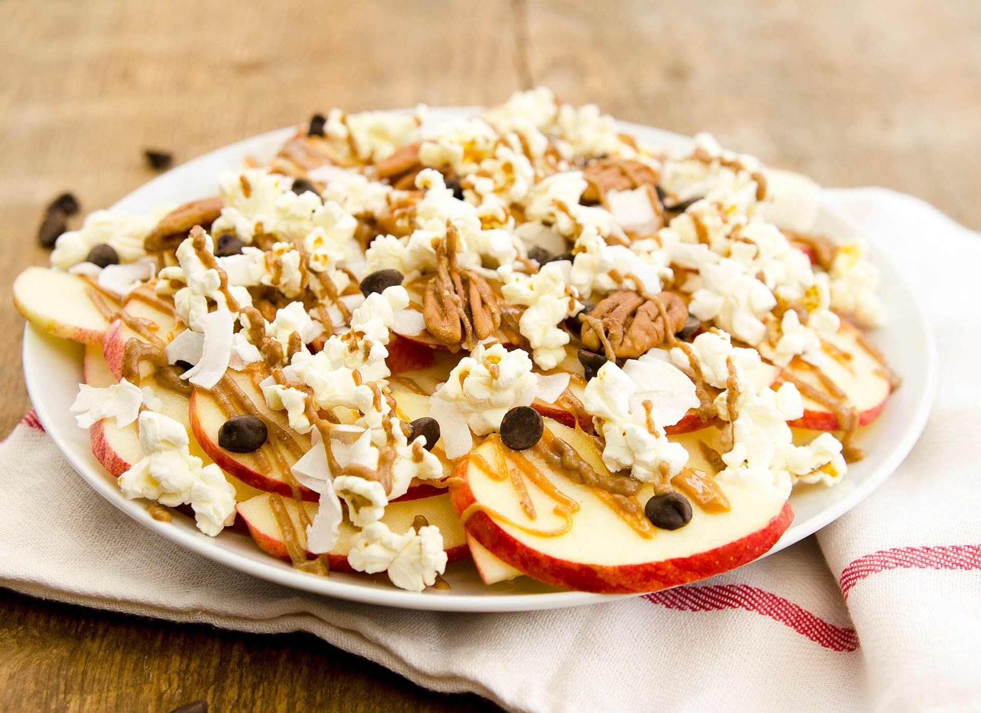 Apple nachos supreme recipe vegan recipes nachos
