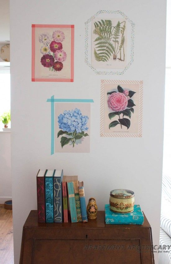 DIY Washi tape picture frames www.apartmentapothecary.com | Washi ...