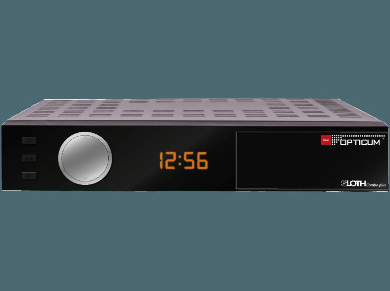 Opticum Red Sloth Combo Plus Combo Receiver Hdtv Twin Tuner Dvb T2 Hd Dvb C Dvb C2 Dvb S Dvb S2 Schwarz 0590191228 Dvb T2 Externe Festplatte Internet Radio