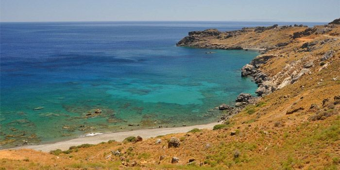 Pefkias Beach In Rodakino Rethimno Crete Beaches Of Rethymno Crete Crete Beach Greek
