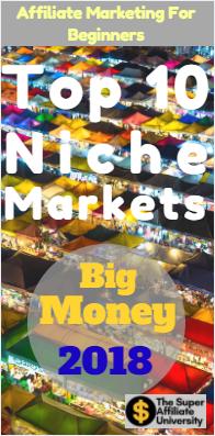 top 10 niche markets