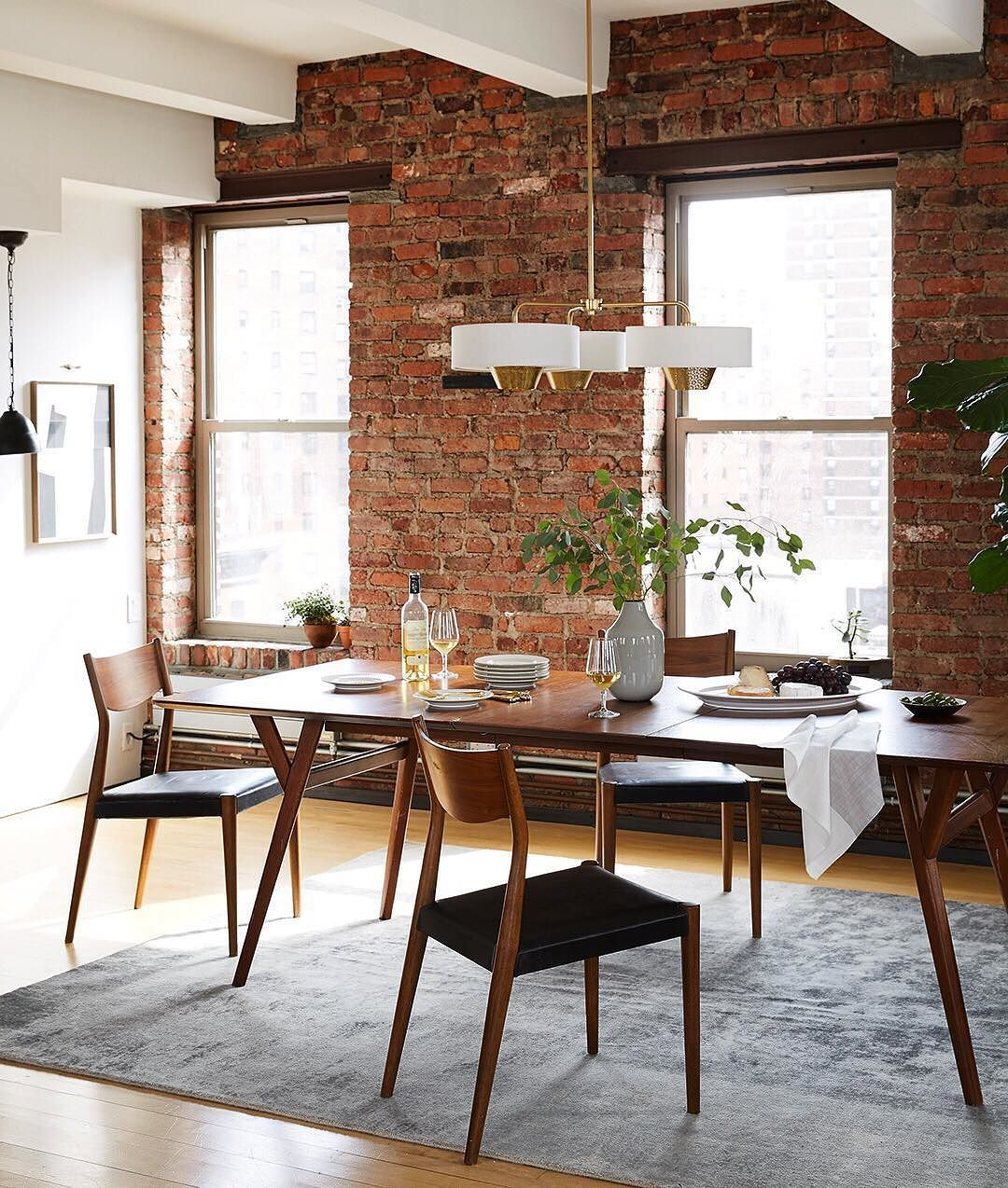 19 Urban Dining Room Designs Decorating Ideas: Pop Some Bottles: It's FRIDAY. / Shop This Whole Dining