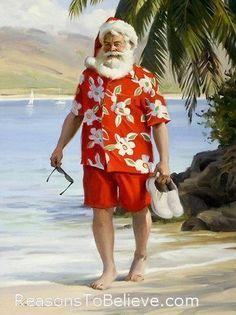 tropical santa claus - Google Search
