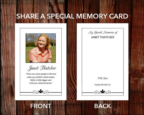 3 In 1 Memory Card Prayer Card And 6 X 4 Inch Print Funeral Etsy In 2021 Prayer Cards Memorial Cards Funeral Cards