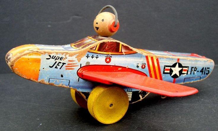 Fisher Price 1952 Super Jet