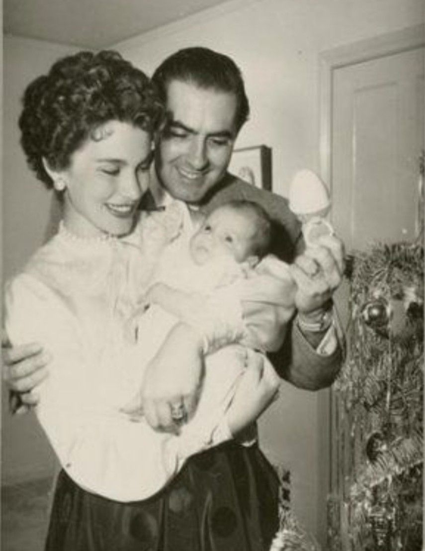 Tyrone Power Board Linda First Daughter Romina Tyrone Power