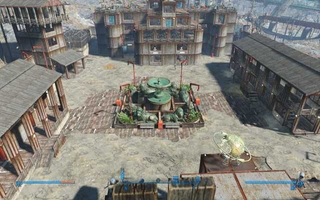 fallout 4 my starlight drive in build all dlcs no mods games