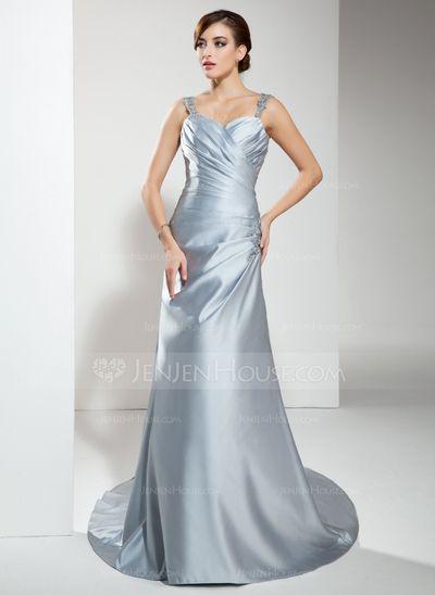 Pin by Katie Johnson on Wedding Ideas | Pinterest | Satin wedding ...