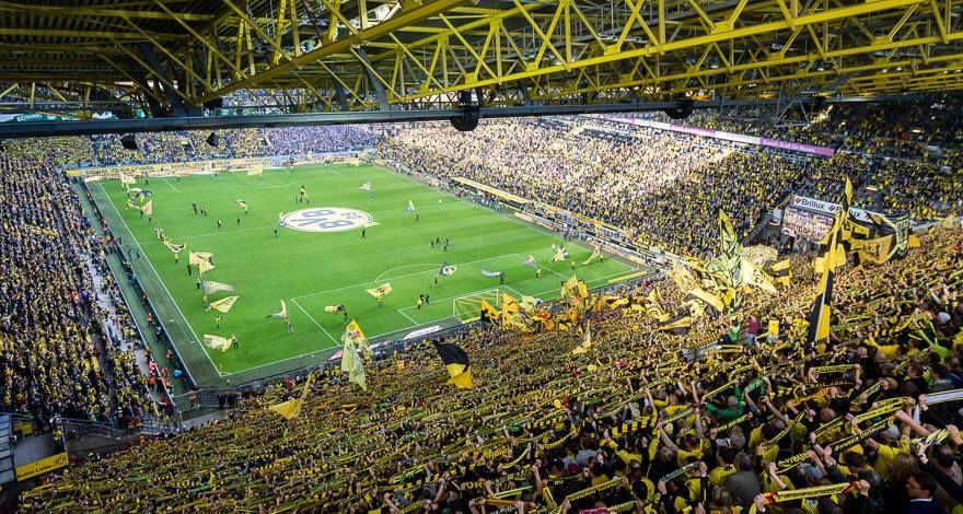 Borussia Dortmund Signal Iduna Park Stadionok Borussia