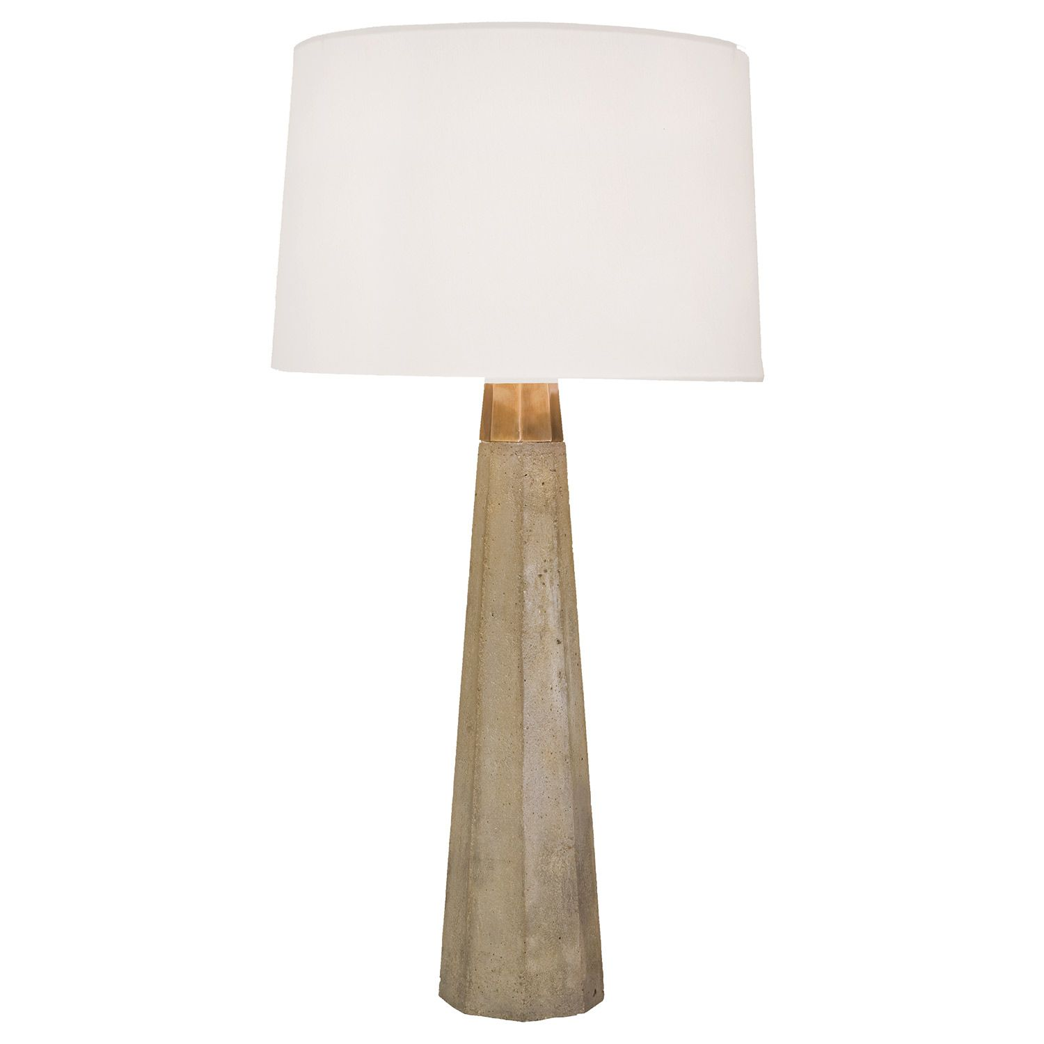 Tall Table Lamps For Bedroom Love This But Too Tall Regina Andrew Concrete And Brass Table