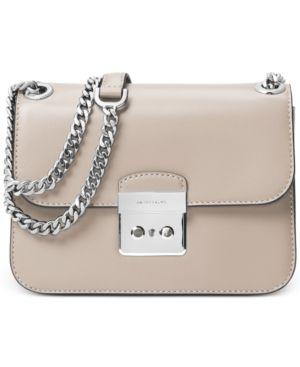 322f397bece5 Michael Michael Kors Sloan Editor Medium Chain Shoulder Bag - Gray ...