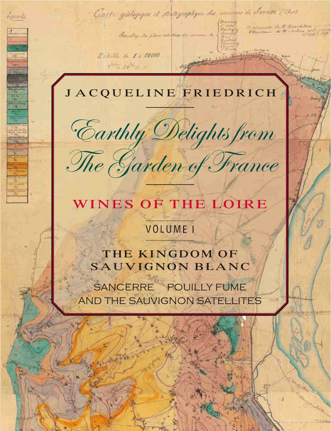 My latest book: Earthly Delights from the Garden of France, Wines of the Loire, Volume One/ The Kingdom of Sauvignon Blanc: Sancerre, Pouilly-Fumé, and the Sauvignon Satellites. You can order it directly from lulu.com or buy from Amazon. Check out reviews on its Facebook page.