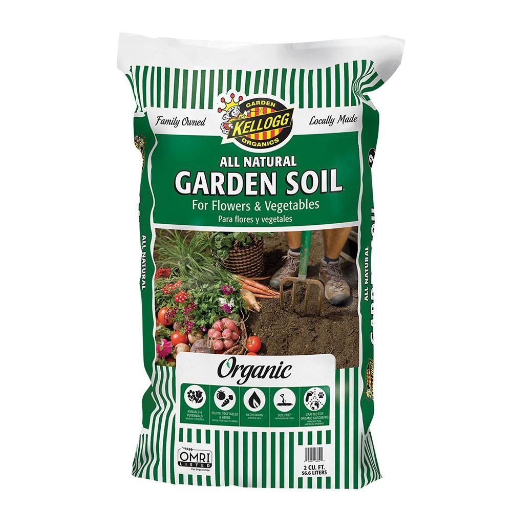 Kellogg Garden Organics 2 cu. ft. All Natural Garden Soil