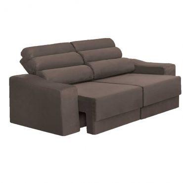 Ricardoeletro Sofa 3 Lugares Reclinavel R 899 90 Frete Gratis