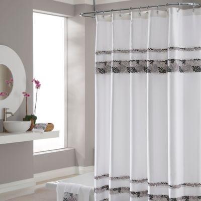 CroscillR Deco Bain Tile 54 Inch X 78 Shower Curtain Affiliate