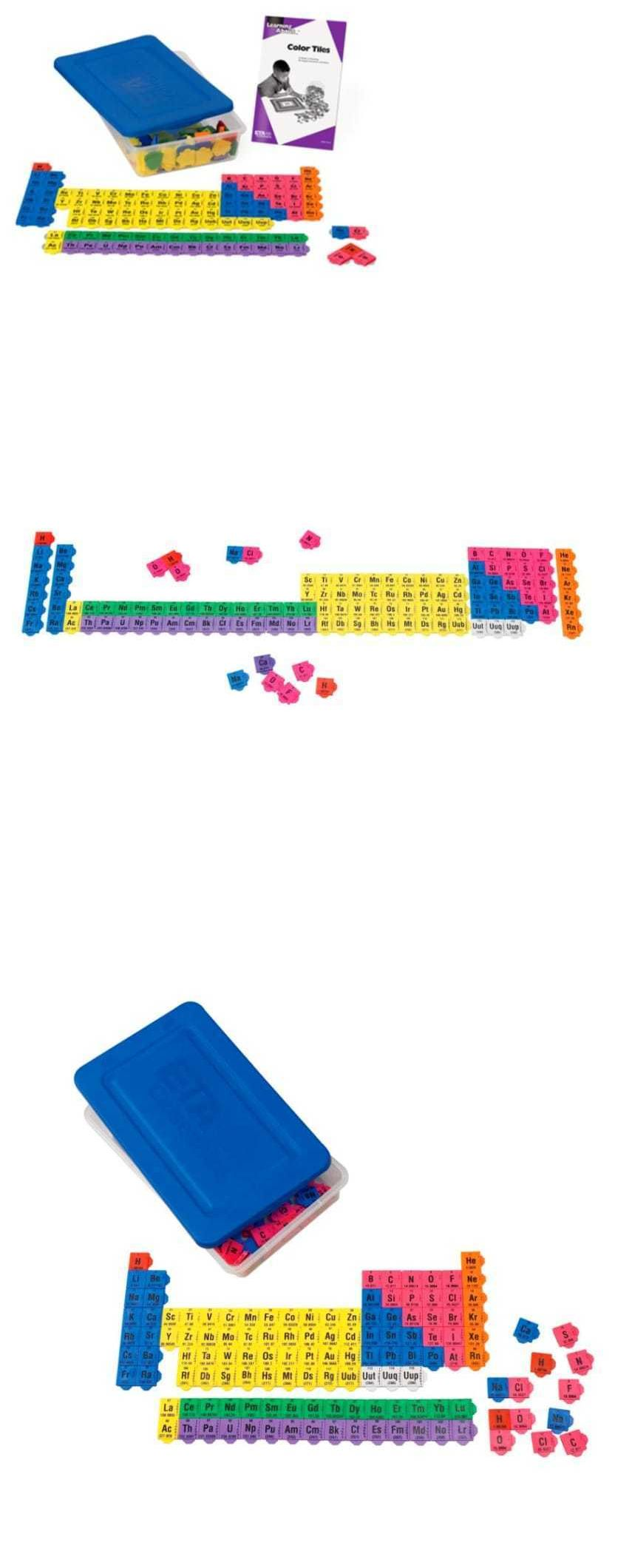 Microscopes and chemistry 2568 periodic table building blocks microscopes and chemistry 2568 periodic table building blocks connecting color tiles science educational toys urtaz Images