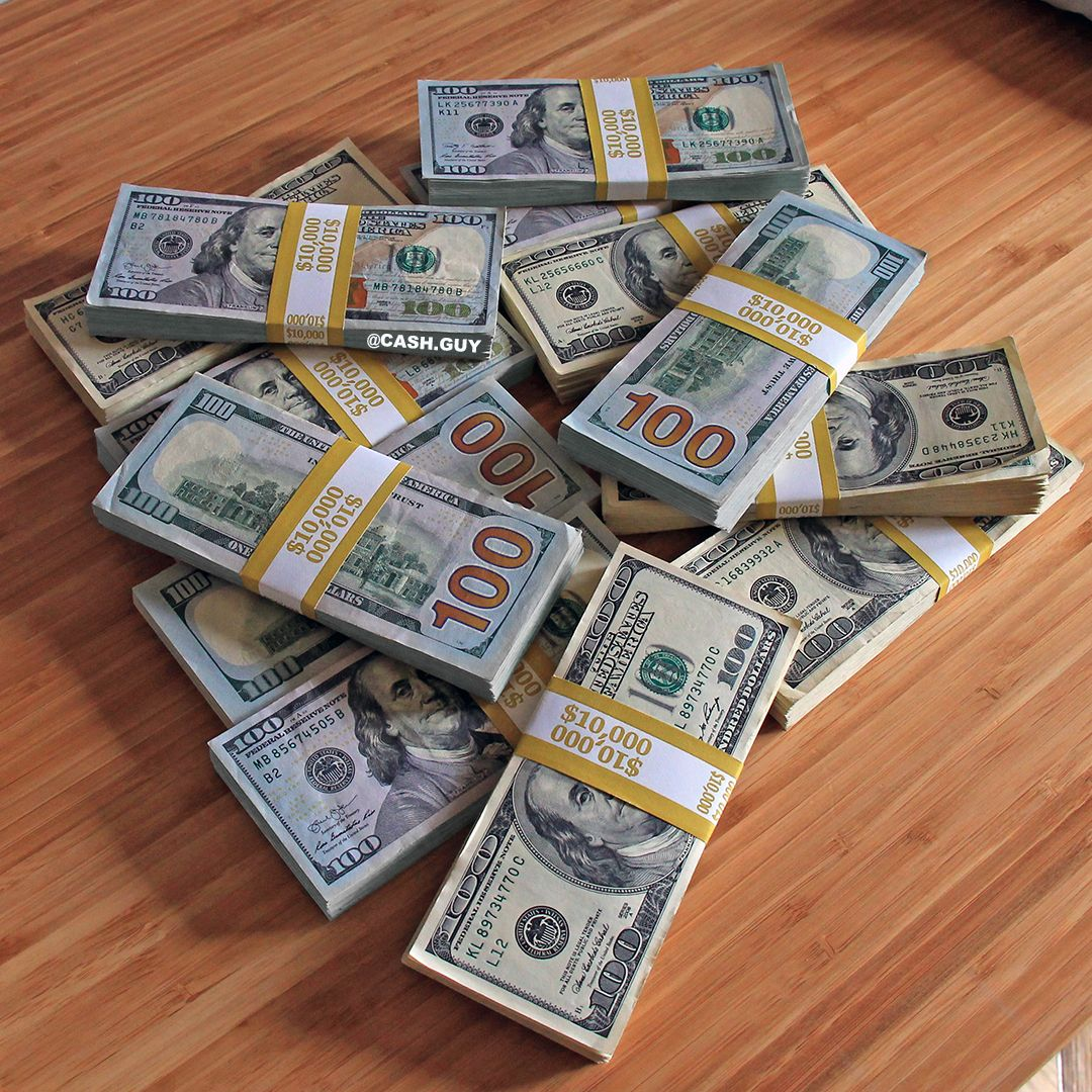 Us Dollars In Fat Stacks Cash On The Table Money For Your Inspiration Enjoy