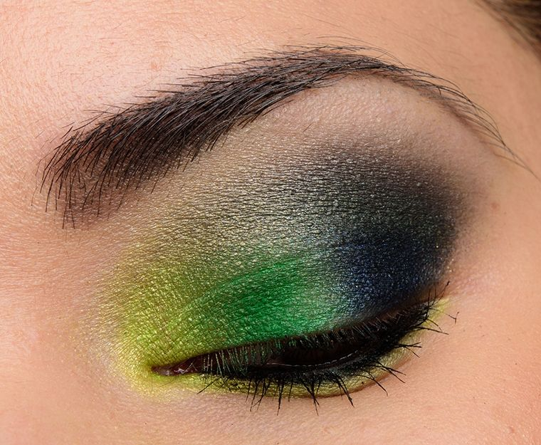 A Bold Lime & Green Eye with Urban Decay Full Spectrum | Urban ...