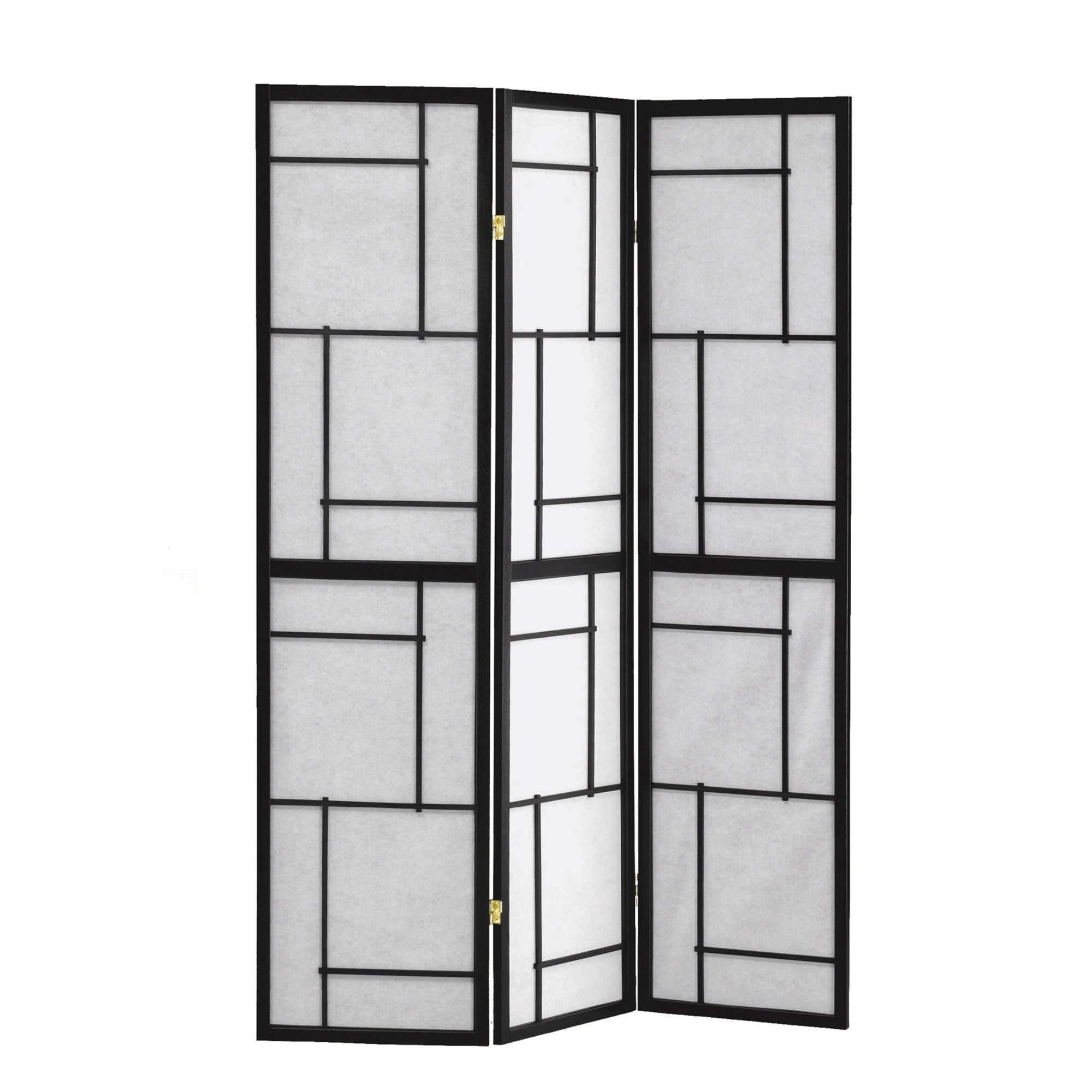Folding Screen - 3 Panel Black Frame in 2018 | Products | Pinterest ...