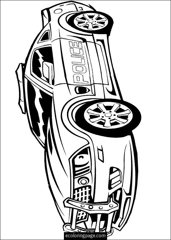 transformers-police-car-printable-coloring-page | Cartoons | Pinterest