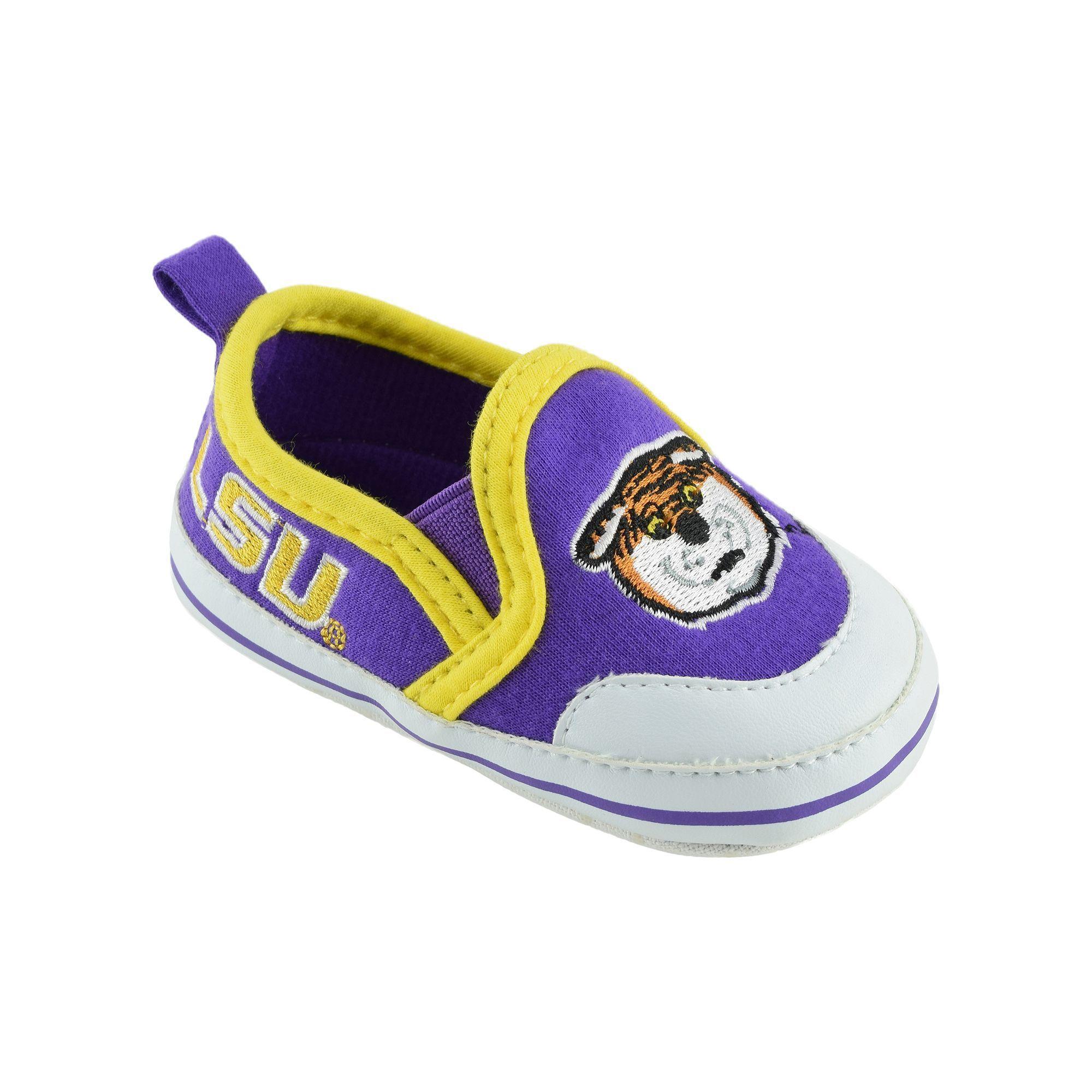 Err 512 Baby LSU Tigers Crib Shoes